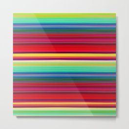 Rainbow Colors Metal Print