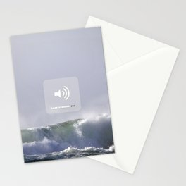 SOUND WAVES Stationery Cards