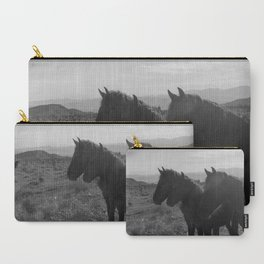 Desert Horses Carry-All Pouch
