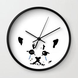Kitty Crying Wall Clock
