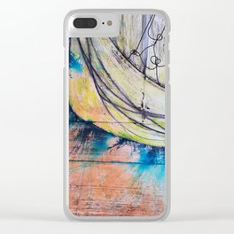 "Unwanted Energy: From the ongoing series ""Breast Cancer and the Brain"" Clear iPhone Case"