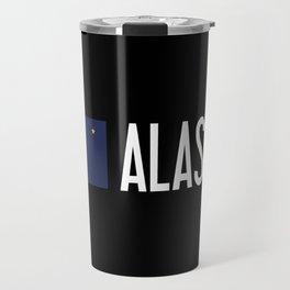 Alaska: Alaskan Flag & Alaska Travel Mug