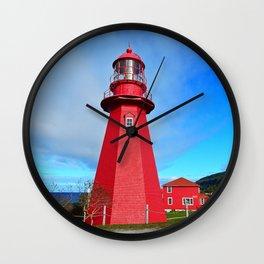 The Watchman Wall Clock