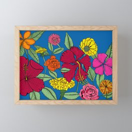 Full bloom Framed Mini Art Print