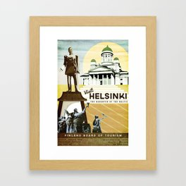 Helsinki, Finland Framed Art Print