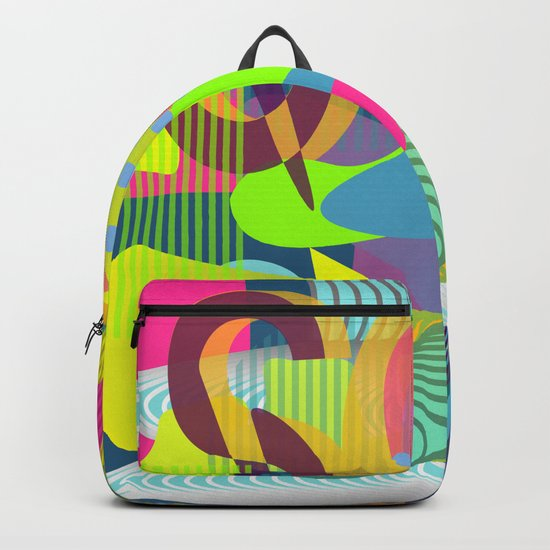 Colorful vibes Backpack