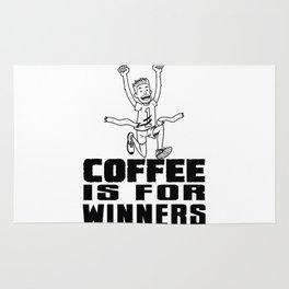 Coffee Is For Winners! Rug