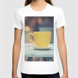 The yellow cup T-shirt
