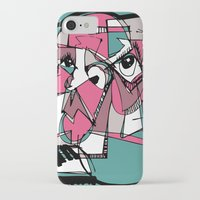 sneaker iPhone & iPod Cases featuring Sneaker Guy by 5wingerone
