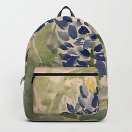 Jeanette's Texas Bluebonnets Backpack