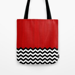 Twin Peaks - The Red Room Tote Bag