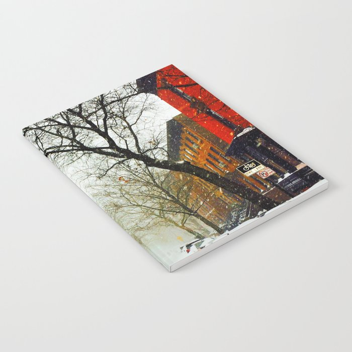 NYC @ Snow Time Notebook