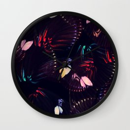 Abstract Butterfly Pattern #3 Wall Clock