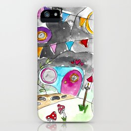 Enchanted Grotto iPhone Case