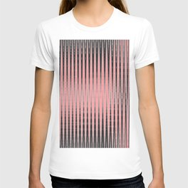 Pink lines T-shirt