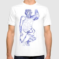 CORRE Mens Fitted Tee White MEDIUM