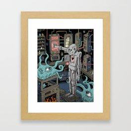 The Experiment Framed Art Print
