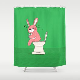 Someone's In Here! Shower Curtain