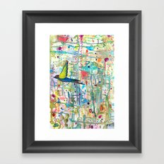 faire surface Framed Art Print