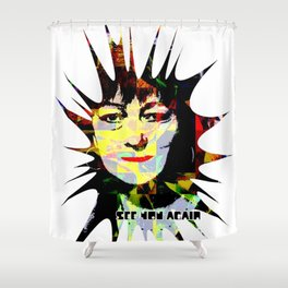 SEE YOU AGAIN Shower Curtain