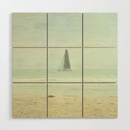 Sail Away - Newport Beach California Wood Wall Art