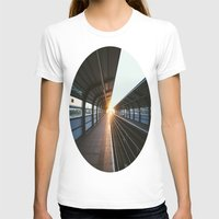 jewish T-shirts featuring The light at the end of the tunnel by Brown Eyed Lady