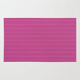 Pink stripes pattern Rug