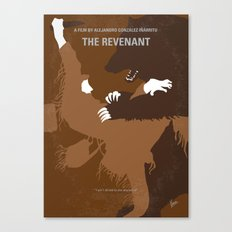 No623 My The Revenant minimal movie poster Canvas Print