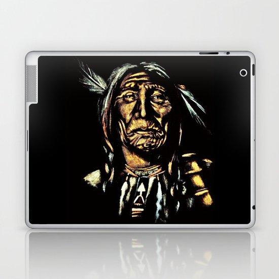 Native American Elder Laptop & iPad Skin