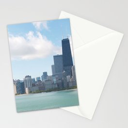 Chicago Skyline Stationery Cards
