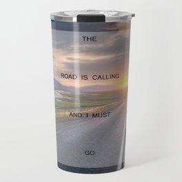 I Must Go (Road) Travel Mug