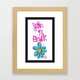G-Dragon Youth-Flower V1 Framed Art Print