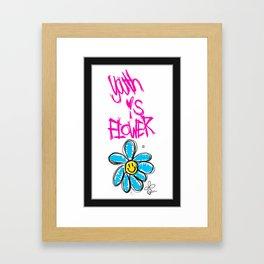 G-Dragon Youth-Flower V1 Framed Art Print