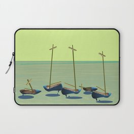 Static Waiting for May - shoes stories Laptop Sleeve