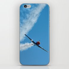 Air show with old military aircraft iPhone & iPod Skin