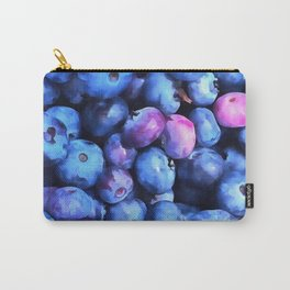 Blueberry Season Carry-All Pouch