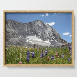 Capitol Peak in Summer Serving Tray