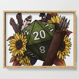 Ranger Class D20 - Tabletop Gaming Dice Serving Tray