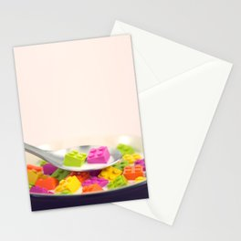 A Balanced Brickfast Stationery Cards