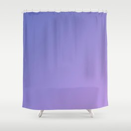 Purple and Light Violet Gradient Shower Curtain
