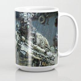 Night time Sniper Hunting Coffee Mug