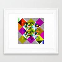 metallic Framed Art Prints featuring Metallic by dogooder