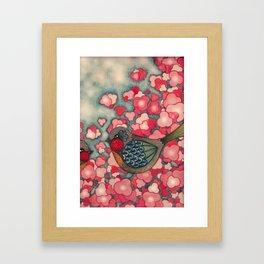 Blossom Birds Framed Art Print