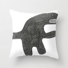 I'm not dangerous Throw Pillow