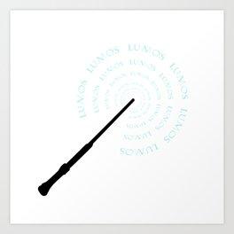 Lumos Art Print
