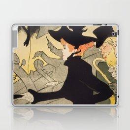 """Henri de Toulouse-Lautrec """"Divan Japonais"""" Laptop & iPad Skin"""