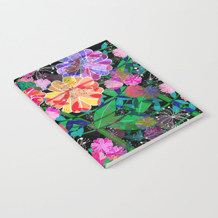 Floral Explosion Notebook