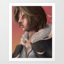 Squall Leonhart - Final Fantasy 8 Art Print