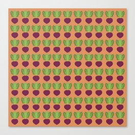 Turnip Patch Canvas Print