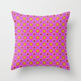 Glo-Dots! Throw Pillow